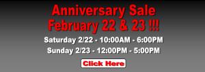 Anniversary Sale Banner 2014