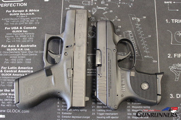 Glock 42 And Ruger LCP