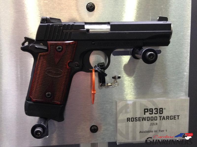 Sig P938 Rosewood Target