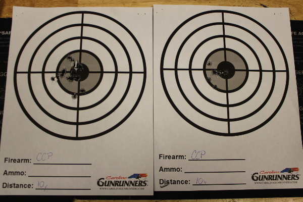 Walther CCP 10 Yard Groups