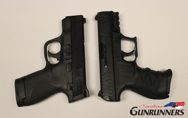 Walther CCP vs SW Shield