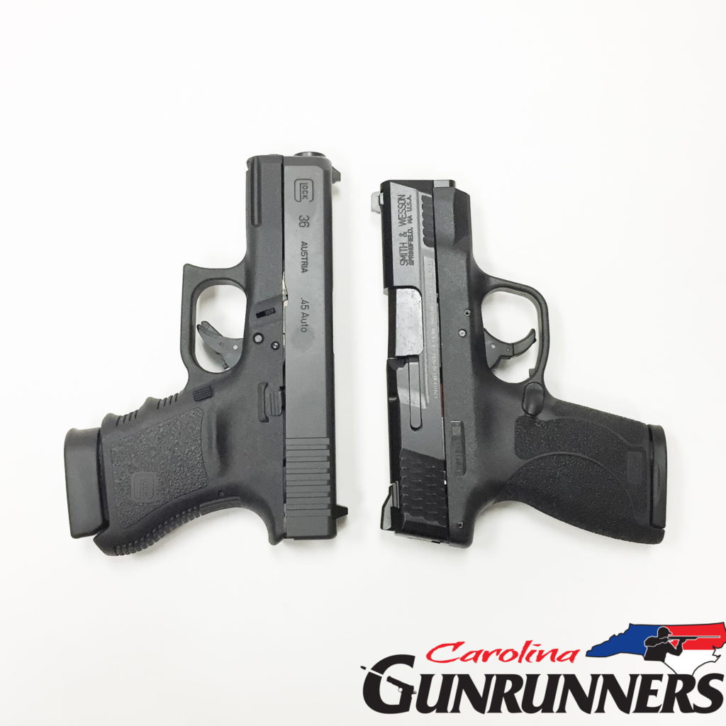 Glock 36 Vs Shield 45