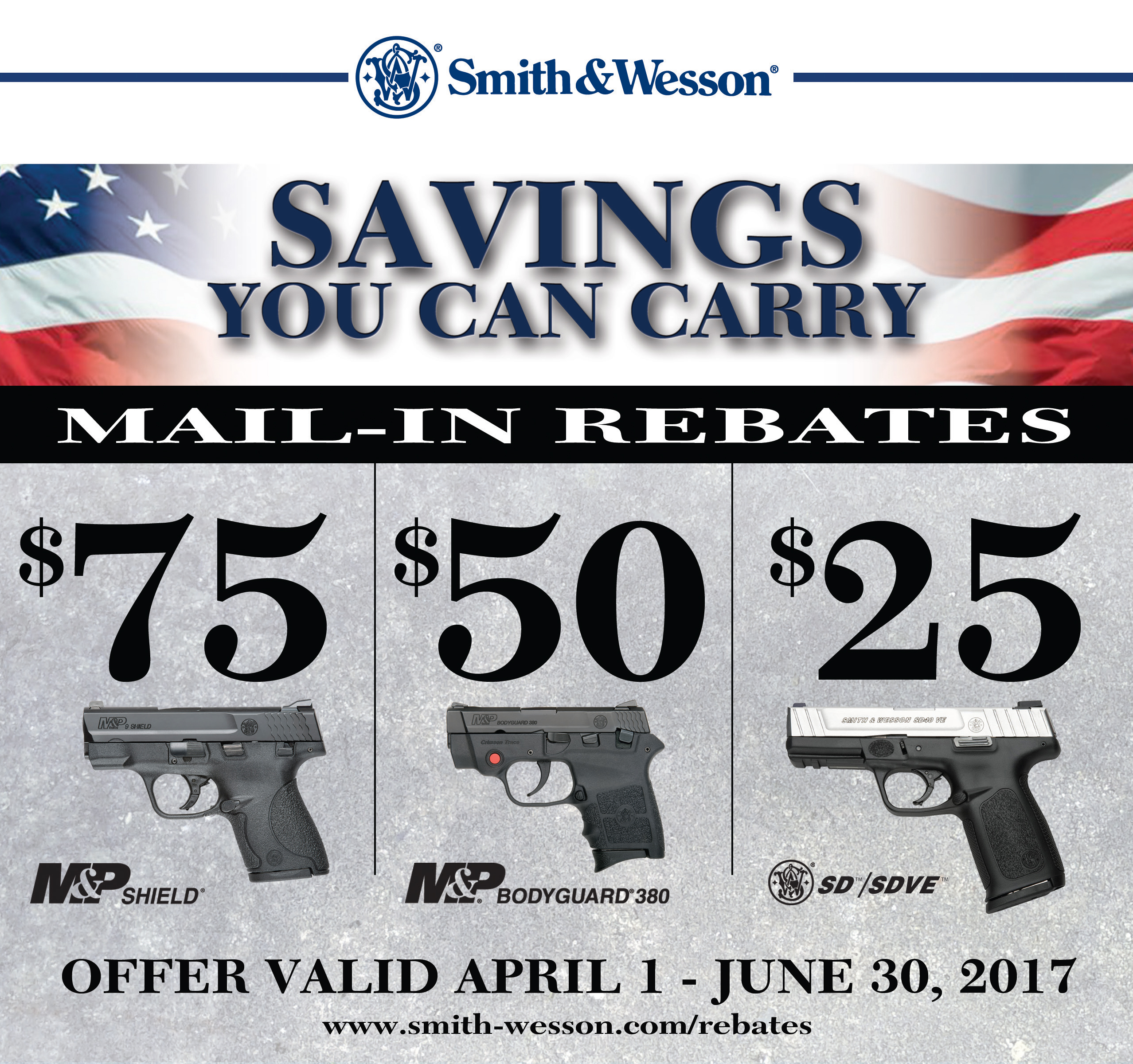 Smith & Wesson Rebate!